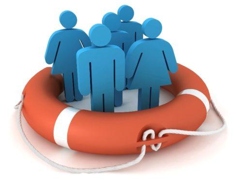 Спасательный круг с сложных условиях